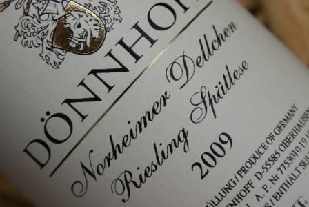 2009 Norheimer DELLCHEN Riesling Spätlese | VDP.Versteigerungswein