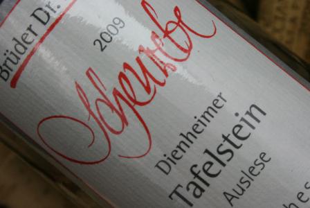 2009 Dienheimer Tafelstein Scheurebe Auslese