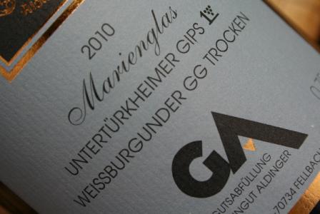 2010 Untertürkheimer GIPS Weissburgunder Grosses Gewächs