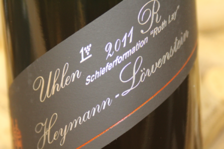 2011 UHLEN ROTH LAY Grosses Gewächs Riesling