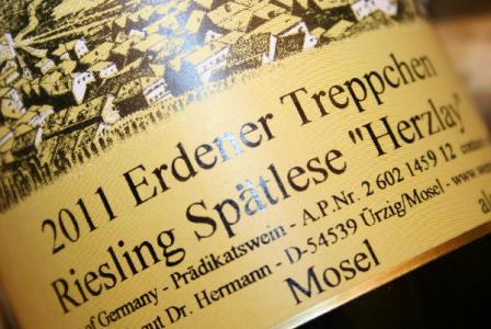2011 Erdener Treppchen Riesling Herzlay Spätlese | Doppelmagnum