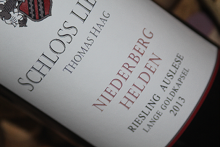 2013 Lieser NIEDERBERG HELDEN Riesling Auslese lange Goldkapsel