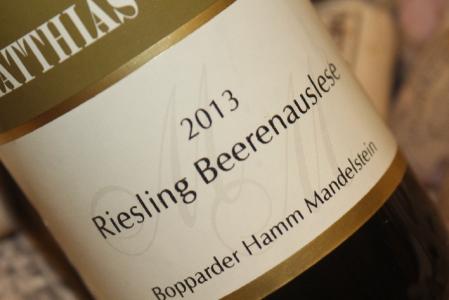 2013 Bopparder Hamm Mandelstein Riesling Beerenauslese