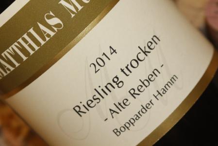 2014 Bopparder Hamm Riesling alte Reben