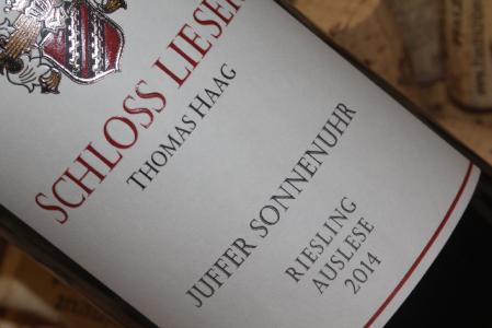 2014 JUFFER SONNENUHR Riesling Auslese VDP.Versteigerungswein