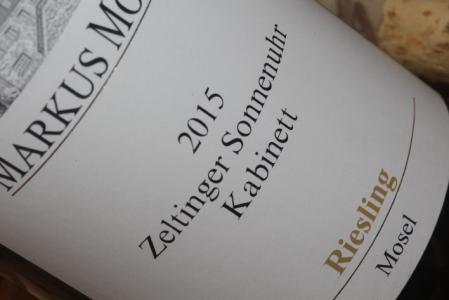 2015 Zeltinger Sonnenuhr Riesling Kabinett