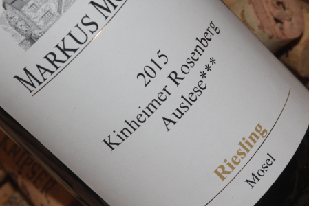 2015 Kinheimer Rosenberg Auslese***