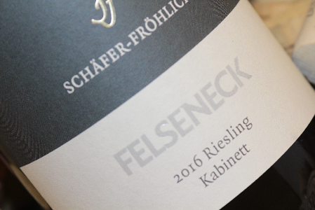 2016 Bockenauer FELSENECK Riesling Kabinett