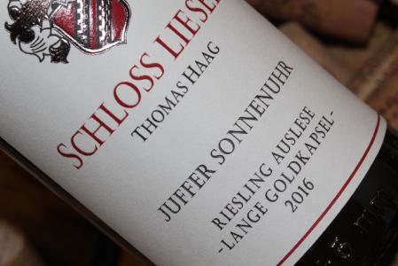 2016 JUFFER SONNENUHR Riesling Auslese LANGE GOLDKAPSEL | VDP.Versteigerungswein