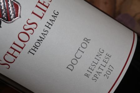 2017 DOCTOR Riesling Spätlese  VDP.Versteigerungswein
