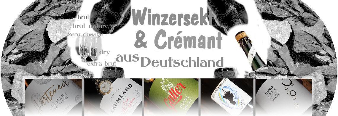 Winzersekt und Crémant aus Deutschland