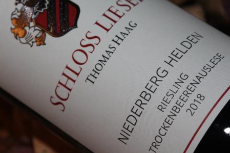 2018 NIEDERBERG HELDEN Riesling Trockenbeerenauslese | Halbflasche