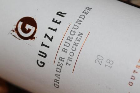 2018 Grauer Burgunder