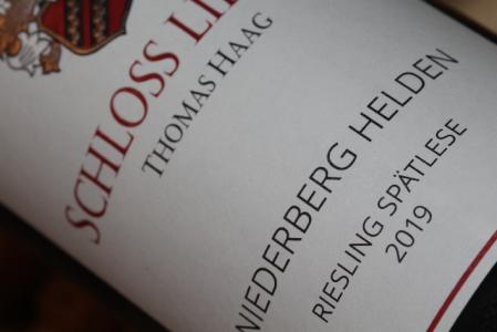 2019 NIEDERBERG HELDEN Riesling Spätlese