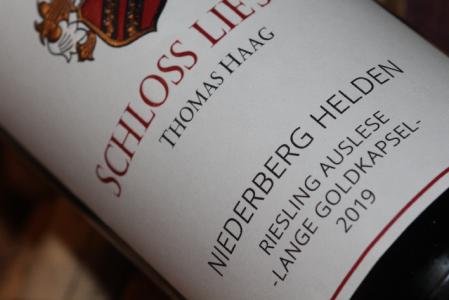 2019 NIEDERBERG HELDEN Riesling Auslese Lange Goldkapsel | Halbflasche