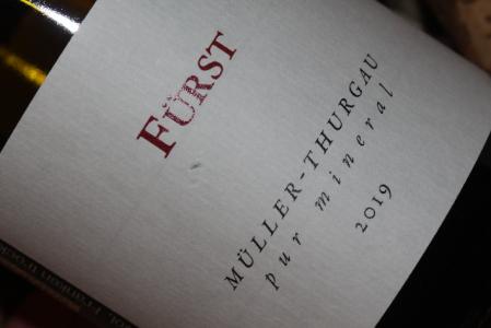 2019 Fürst Müller-Thurgau pur mineral