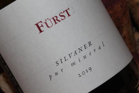 2019 Fürst Silvaner pur mineral