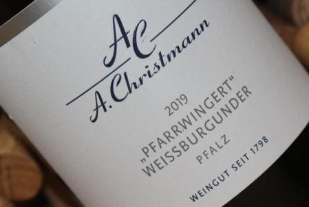 2019 Gimmeldingen PFARRWINGERT Weißburgunder