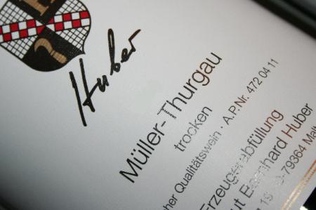 2018 Müller-Thurgau | Bernhard Huber | MAGNUM