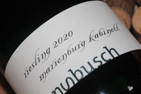 2020 MARIENBURG Kabinett Riesling | fruchtsüß