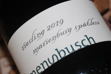 2019 Pünderich MARIENBURG Spätlese