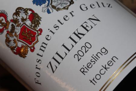 2020 Zilliken Riesling trocken | VDP.Gutswein