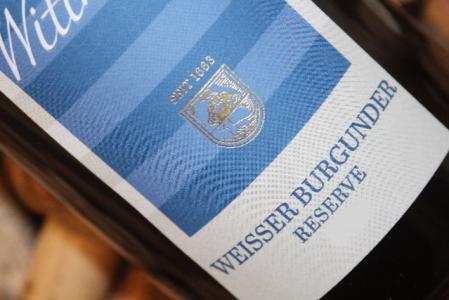 2019 Weisser Burgunder Reserve trocken