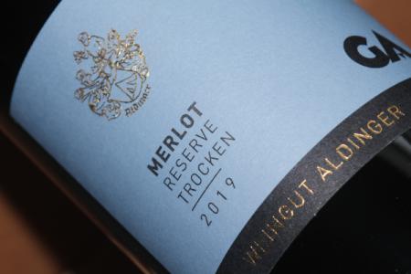 2019 Merlot Reserve | Aldinger