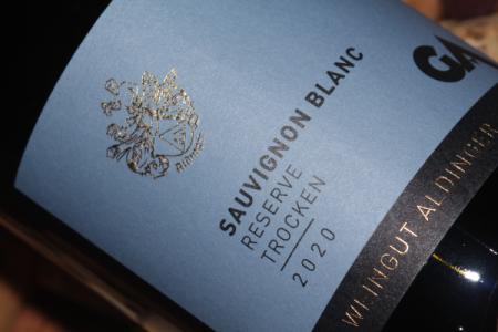 2020 Sauvignon Blanc Reserve | Aldinger