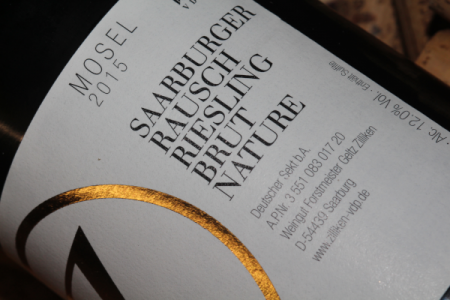 2015 Saarburg Rausch Riesling Sekt | Brut Nature | Zilliken