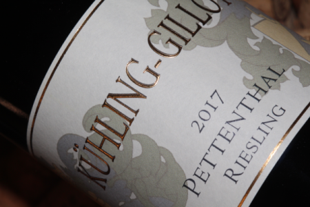 2017 PETTENTHAL Riesling GG