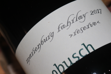 2017 FAHRLAY Riesling GG Reserve